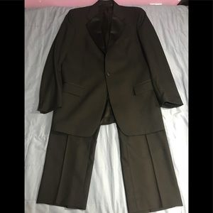 GIVENCHY PURE WOOL TUXEDO SUIT